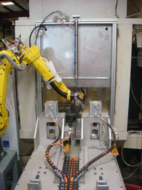 robot machine tending